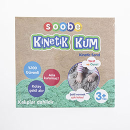 Soobe Magic Sand Kinetik Kum Yeşil