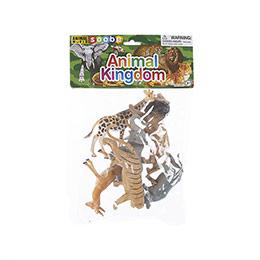 Animal World 6 parça 6 inch Orman Hayvanları Seti - Poşette