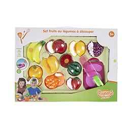 Qweenie Home Işıklı Meyve Kesme Seti