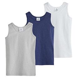 Erkek Çocuk Üçlü Atlet Set Beyaz (2-12 yaş)
