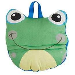 Kurbağa Erkek Çocuk Battaniye Mavi 90x90