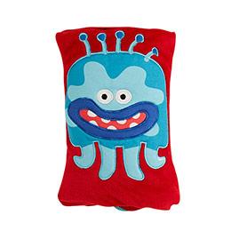 Canavar Erkek Çocuk Battaniye Kırmızı