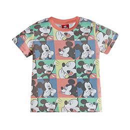 Disney Mickey Mouse Erkek Çocuk Kısa Kol Tişört Baskılı (2-7 yaş)