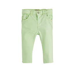 Erkek Bebek Pantolon Neon Limon (0-2 yaş)