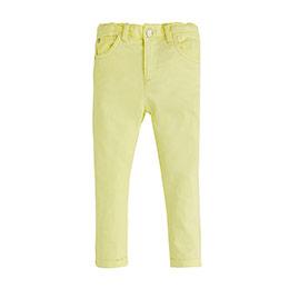 Erkek Bebek Pantolon Limon Sarısı (0-2 yaş)