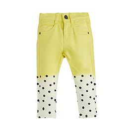 Erkek Bebek Pantolon Sarı (0-2 yaş)