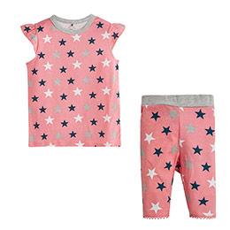 Kız Çocuk Pijama Takımı Beyaz (4-12 yaş)