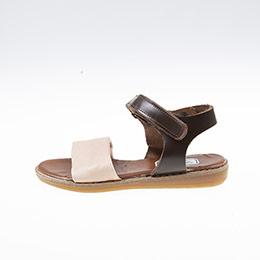 Kız Çocuk Deri Sandalet Pembe (21-30 numara)