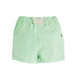 Pop Girls Mini Şort Neon Yeşil (0-2 yaş)