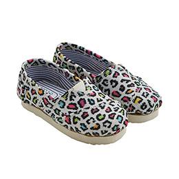 Espadril Ayakkabı Kız Çocuk Leopar Desen (21-30 numara)