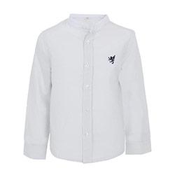 Erkek Çocuk Uzun Kol Gömlek Gri (3-12 yaş)