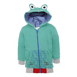 Erkek Bebek Sweatshirt Yeşil (56-92 cm)