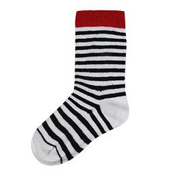 Kız Çocuk Diz Altı Çorap Ekru (19-30 numara)