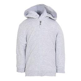 Kız Bebek Sweatshirt Gri Melanj (56-92 cm)