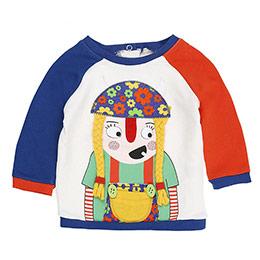 Kız Bebek Sweatshirt Ekru (56-92 cm)