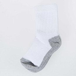 Kız Çocuk Havlu Çorap Beyaz (19-34 numara)
