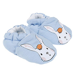 Erkek Bebek Patik Açık Mavi