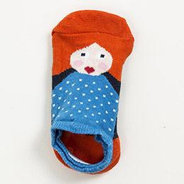 Kız Çocuk Çorap Mavi (23-34 numara)