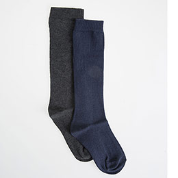 Erkek Çocuk Okul Çorabı İkili Beyaz (27-34 numara)