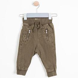 Erkek Bebek Pantolon Haki (0-3 yaş)
