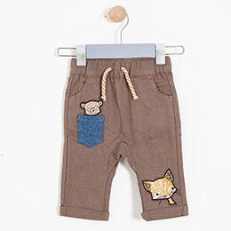 Erkek Bebek Pantolon Toprak (0-2 yaş)