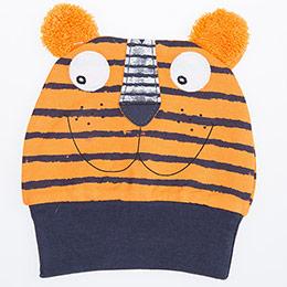 Erkek Bebek Şapka Oranj (0-2 yaş)