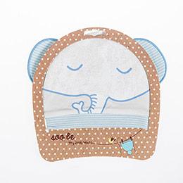 Erkek Bebek Şapka Açık Mavi