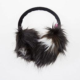 Kız Çocuk Kulaklık Siyah (4-12 yaş)