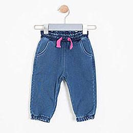 Kız Çocuk Pantolon Mavi (1-7 yaş)