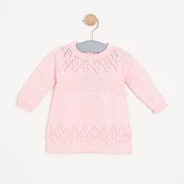 Kız Bebe Elbise Pink (0-2 yaş)