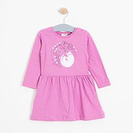 Kız Bebek Elbise Fuşya (0-2 yaş)