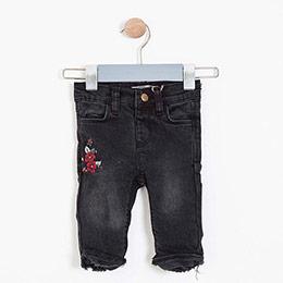 Kız Bebek Pantolon Siyah (56 cm-3 yaş)