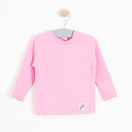 Kız Bebek Sweatshirt Pembe (0-2 yaş)