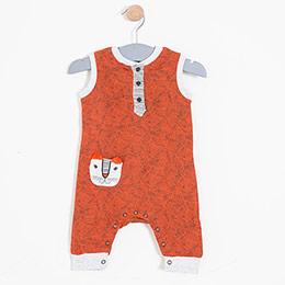 Kız Bebek Tulum Kırmızı (56-86 cm)