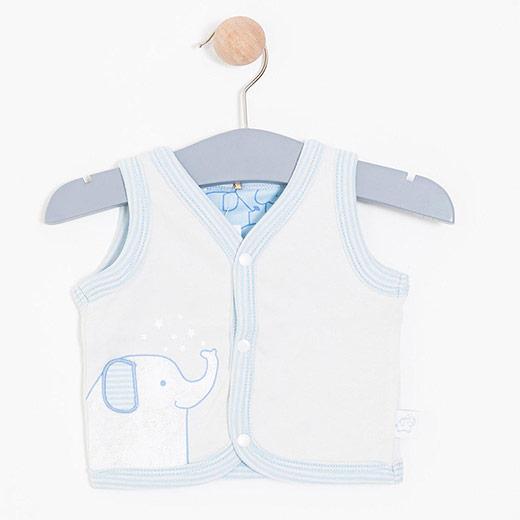 Erkek Bebek Yelek Gri (0-2 yaş)