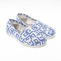 Erkek Çocuk Keten Ayakkabı Mavi (21-30 numara)