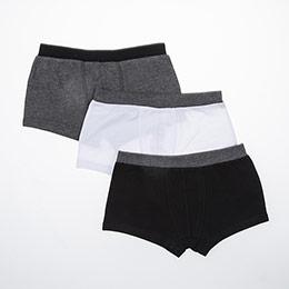 Erkek Çocuk Üçlü Boxer Set Beyaz (1-12 yaş)