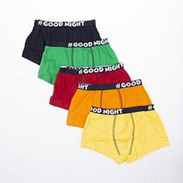 Erkek Çocuk Beşli Boxer Set Yeşil (1-12 yaş)