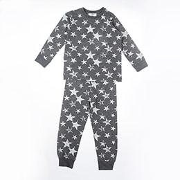 Erkek Çocuk Pijama Takımı Antra Melanj (3-12 yaş)