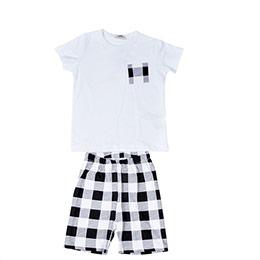 Erkek Çocuk Pijama Takımı Beyaz (3-12 yaş)