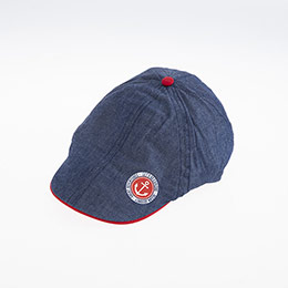Erkek Çocuk Kasket Şapka Koyu Mavi (5-8 yaş)