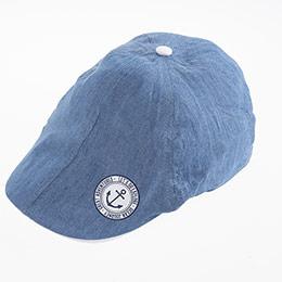 Erkek Çocuk Kasket Şapka Mavi (5-8 yaş)