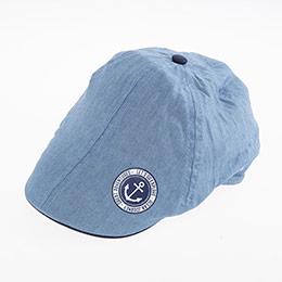 Erkek Çocuk Kasket Şapka Buz Mavi (5-8 yaş)