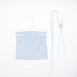 Erkek Bebek Merserize İnce Battaniye Mavi 0-2 Yaş