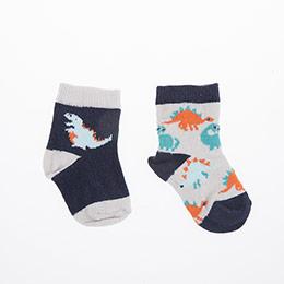 Erkek Bebek İkili Çorap Bej (14-22 numara)