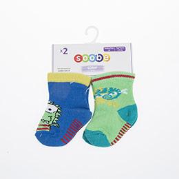 Erkek Bebek İkili Çorap Yeşil (14-22 numara)