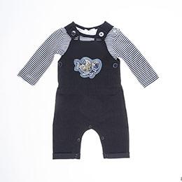 Erkek Bebek Tulum Lacivert (0-2 yaş)