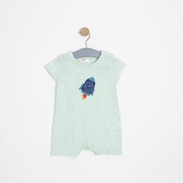 Erkek Bebek Tulum Mint (0-2 yaş)
