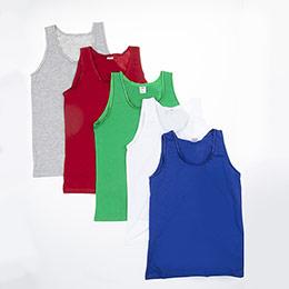 Kız Çocuk Beşli Atlet Set Pembe (1-12 yaş)
