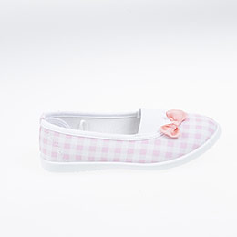Kız Çocuk Keten Ayakkabı Beyaz (26-30 numara)